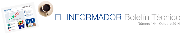 El Informador 144. Boletín técnico de Awerty Servicios Informáticos