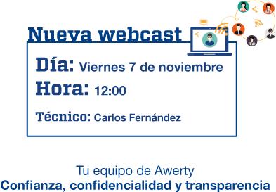 Novedades de VMware. Webcast gratuita de Awerty Servicios Informáticos
