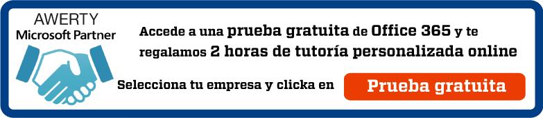 Prueba gratis Office 365