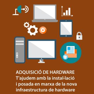 Adquisició de hardware