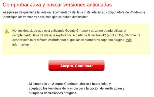 Error de Chrome máquinas virtuales