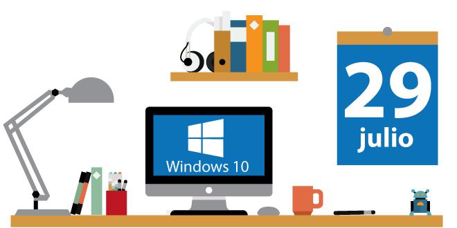 Empieza la era de Windows 10