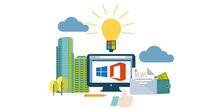 Microsoft 365 la suma de Office 365 y Windows