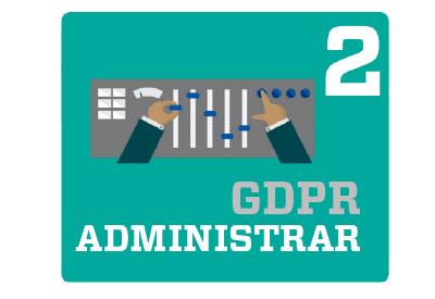 GDPR Reglamento de Protección de Datos paso administrar